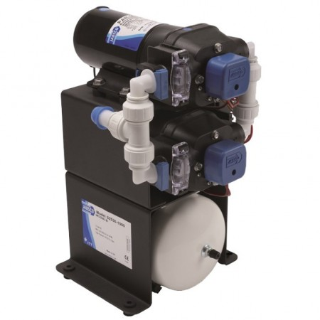 12V Jabsco double stack water system